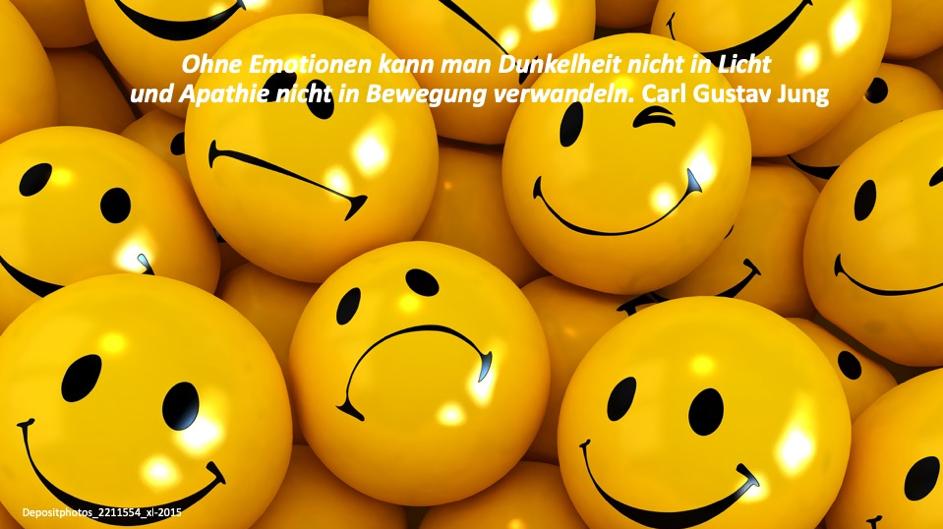 Ohne Emotionen kann man Dunkelheit nicht in Licht und Apathie nicht in Bewegung bringen - Carl Gutav Jung
